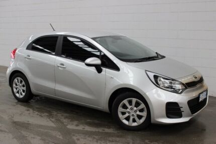 2016 Kia Rio UB MY16 S Silver 4 Speed Sports Automatic Hatchback Burnie Area Preview