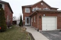3 Bedrooms Semi Detached With 1 Bed rm Basement