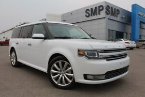2016 Ford Flex Limited w/EcoBoost - Nav, Leather, Sunroof, Rem.