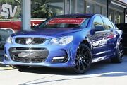 2016 Holden Commodore VF II MY16 SV6 Black Blue 6 Speed Sports Automatic Sedan Somerton Park Holdfast Bay Preview