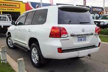 2013 Toyota Landcruiser VDJ200R MY13 Sahara White 6 Speed Sports Automatic Wagon Mindarie Wanneroo Area Preview