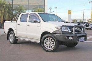 2013 Toyota Hilux White Manual Utility Wangara Wanneroo Area Preview