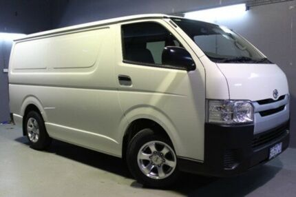 2015 Toyota Hiace KDH201R LWB White 5 Speed Manual Van