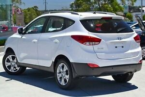 2015 Hyundai ix35 LM3 MY15 Active Pure White 6 Speed Sports Automatic Wagon Slacks Creek Logan Area Preview