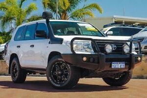 2013 Toyota Landcruiser VDJ200R MY13 GX White 6 Speed Sports Automatic Wagon Spearwood Cockburn Area Preview