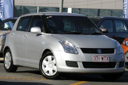 2010 Suzuki Swift RS415 GLX Silver 5 Speed Manual Hatchback