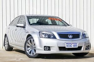 2011 Holden Caprice WM II V Silver 6 Speed Sports Automatic Sedan Willetton Canning Area Preview