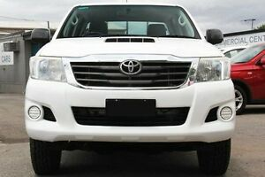 2012 Toyota Hilux KUN26R MY12 SR Double Cab White 4 Speed Automatic Utility Hillcrest Port Adelaide Area Preview
