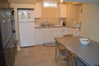 Two Bedroom Basement Suite for rent - Walking Distance to RDC!