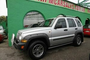 2005 Jeep Cherokee KJ Renegade Silver Automatic Wagon Nailsworth Prospect Area Preview