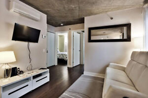 Beautiful 4 ½ (2bd). Fully furnished. (Quartier de Spectacles)