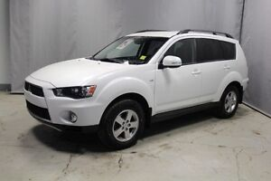 2012 Mitsubishi Outlander AWC LS Heated Seats,  Back-up Cam,  Bl