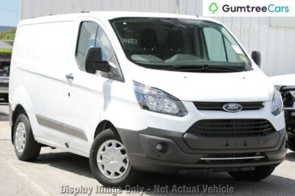 2017 Ford Transit Custom VN MY17.25 290S (SWB) Frozen White 6 Speed Automatic Van