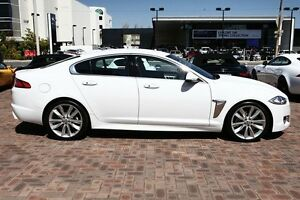 2011 Jaguar XF X250 MY11 S Luxury White 6 Speed Sports Automatic Sedan Osborne Park Stirling Area Preview