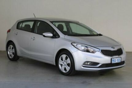 2015 Kia Cerato YD MY16 S Silver 6 Speed Automatic Hatchback