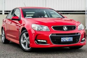 2016 Holden Commodore VF II SV6 Red 6 Speed Automatic Sedan Cannington Canning Area Preview