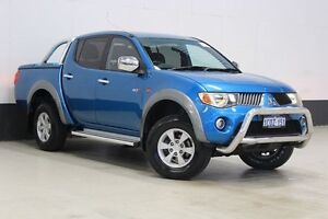 2007 Mitsubishi Triton ML GLX-R (4x4) Blue 4 Speed Automatic 4x4 Bentley Canning Area Preview