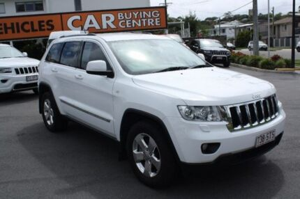 2012 Jeep Grand Cherokee WK MY2013 Laredo White 5 Speed Sports Automatic Wagon Mount Gravatt Brisbane South East Preview
