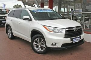 2015 Toyota Kluger GSU55R GXL AWD Crystal Pearl 6 Speed Sports Automatic Wagon Myaree Melville Area Preview