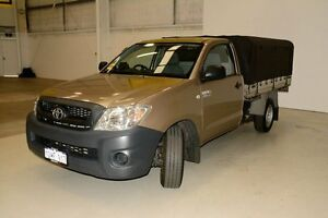 2010 Toyota Hilux TGN16R MY10 Workmate Gold 4 Speed Automatic Cab Chassis Edgewater Joondalup Area Preview