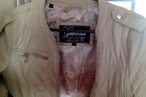 Guess Jacket- Quilted Cream colour Kitchener / Waterloo Kitchener Area image 3
