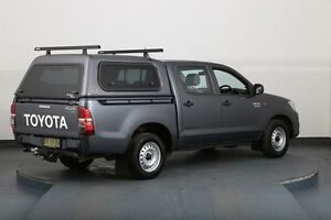 2012 Toyota Hilux KUN16R MY12 SR Grey 5 Speed Manual Dual Cab Pick-up Smithfield Parramatta Area Preview
