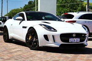 2015 Jaguar F-Type X152 MY16 R Quickshift AWD White 8 Speed Seq Manual Auto-Clutch Coupe Osborne Park Stirling Area Preview