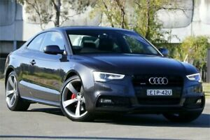 2015 Audi A5 8T MY15 S Tronic Quattro Grey 7 Speed Sports Automatic Dual Clutch Coupe Granville Parramatta Area Preview