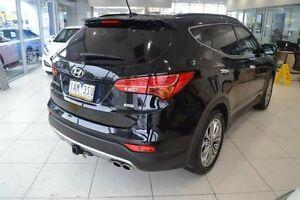 2013 Hyundai Santa Fe DM MY13 Highlander Black 6 Speed Sports Automatic Wagon Mill Park Whittlesea Area Preview