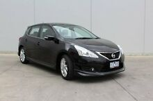 2013 Nissan Pulsar C12 SSS Black 6 Speed Manual Hatchback Berwick Casey Area Preview