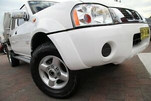 2013 Nissan Navara D22 Series 5 ST-R (4x4) White 5 Speed Manual Dual Cab Pick-up Waitara Hornsby Area Preview