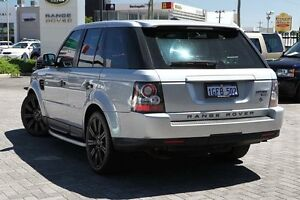 2010 Land Rover Range Rover Sport L320 10MY TDV8 Silver 6 Speed Sports Automatic Wagon Osborne Park Stirling Area Preview