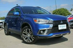 2017 Mitsubishi ASX XC MY18 LS (2WD) Blue Continuous Variable Wagon Victoria Park Victoria Park Area Preview