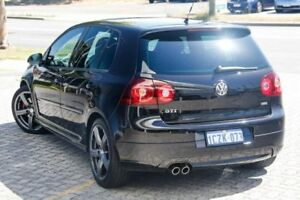 2008 Volkswagen Golf V MY09 GTI DSG Pirelli Black 6 Speed Sports Automatic Dual Clutch Hatchback