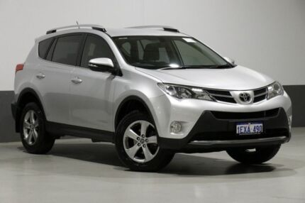 2015 Toyota RAV4 ALA49R MY14 Upgrade GXL (4x4) Silver 6 Speed Automatic Wagon Bentley Canning Area Preview