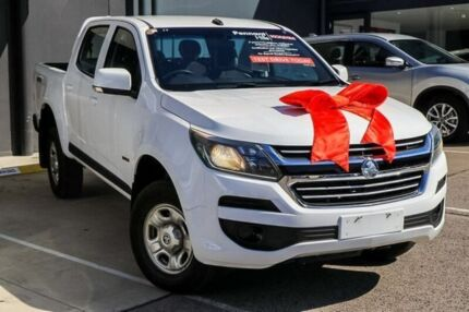 2016 Holden Colorado RG MY16 LS Crew Cab White 6 Speed Sports Automatic Utility Pennant Hills Hornsby Area Preview