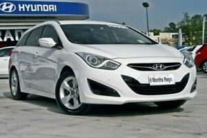 2014 Hyundai i40 VF2 Active Tourer White 6 Speed Sports Automatic Wagon Hillcrest Logan Area Preview