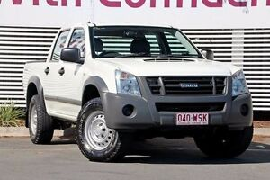 2010 Isuzu D-MAX MY10 SX High Ride White 4 Speed Automatic Utility Mount Gravatt Brisbane South East Preview