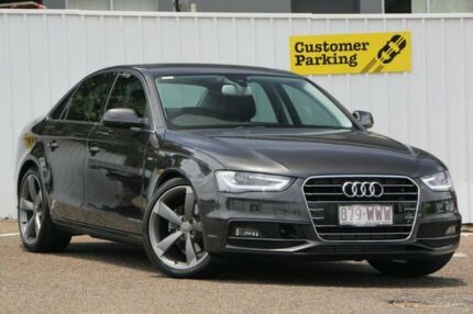 2015 Audi A4 B8 8K MY15 S Line Multitronic Grey 8 Speed Constant Variable Sedan Chermside Brisbane North East Preview