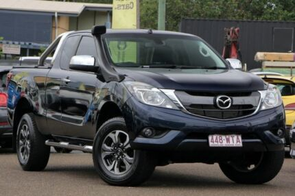 2016 Mazda BT-50 UR0YG1 XTR Freestyle Blue 6 Speed Sports Automatic Utility Chermside Brisbane North East Preview