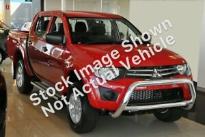 2010 Mitsubishi Triton MN MY10 GL-R Double Cab 4x2 Grey 5 Speed Manual Utility East Toowoomba Toowoomba City Preview