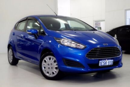 2014 Ford Fiesta WZ Ambiente PwrShift Blue 6 Speed Sports Automatic Dual Clutch Hatchback Myaree Melville Area Preview