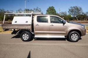 2009 Toyota Hilux KUN26R MY09 SR5 Gold 4 Speed Automatic Utility Mindarie Wanneroo Area Preview