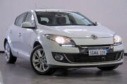 2012 Renault Megane III B32 MY12 Privilege White 6 Speed Constant Variable Hatchback Myaree Melville Area Preview