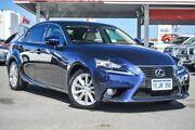2013 Lexus IS250 GSE30R Luxury Deep Sea Blue 6 Speed Automatic Sedan Osborne Park Stirling Area Preview