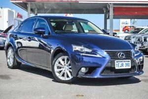 2013 Lexus IS250 GSE30R Luxury Deep Sea Blue 6 Speed Automatic Sedan