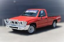 2000 Toyota Hilux RZN149R Red 5 Speed Manual Utility Berwick Casey Area Preview
