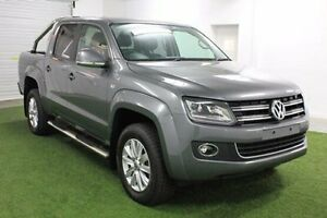 2015 Volkswagen Amarok 2H MY15 TDI420 4Motion Perm Highline Grey 8 Speed Automatic Utility Moonah Glenorchy Area Preview