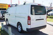2010 Toyota Hiace KDH201R MY10 LWB White 5 Speed Manual Van Mindarie Wanneroo Area Preview