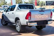 2016 Toyota Hilux GUN126R SR5 Double Cab Silver Sky 6 Speed Sports Automatic Utility Wangara Wanneroo Area Preview